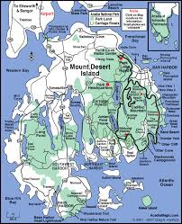 national harbor map acadia national park map acadia map mount desert island maine