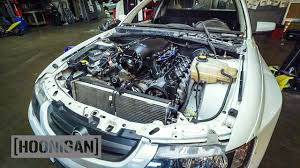 hoonigan mustang engine hoonigan dt 139 our holden ute gets a fresh v8 youtube