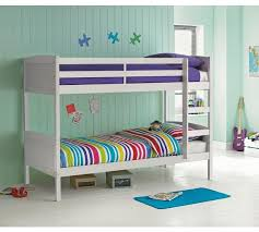 Buy HOME Detachable Single Bunk Bed Frame White At Argoscouk - Single bunk beds