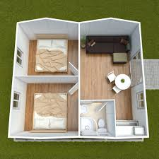 1 and 2 bedroom cabin