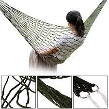 lightweight new portable camping survival hammock 150kg bearing