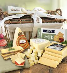 cheese baskets handcrafted cheese gift basket