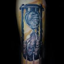 hourglass forearm tattoo pictures to pin on pinterest tattooskid