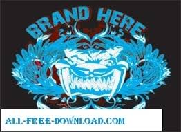 tattoo t shirt vector design free vector in encapsulated