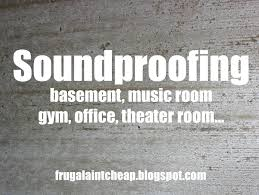 home theater soundproofing frugal ain u0027t cheap soundproofing a room