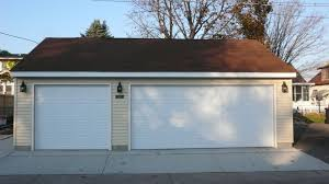 standard garage door sizes standard heights and weights traba homes