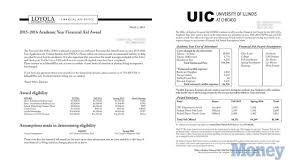 college financial aid letters what an estimated award means money