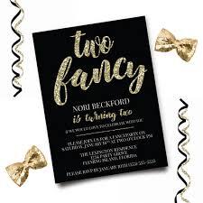 fancy invitations two fancy birthday invitation glitter birthday invitation