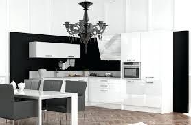 cuisine noir et blanc modele cuisine noir et blanc cuisine photo modele cuisine noir et