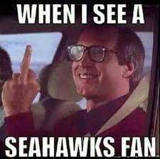 Patriots Lose Meme - clark does not like the seahawks and neither do i but i hate the