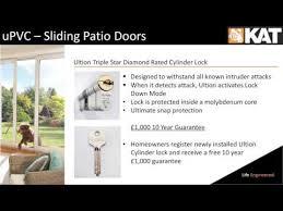 Upvc Sliding Patio Door Locks Upvc Sliding Patio Door Features And Benefits Youtube
