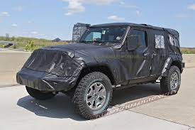 diesel jeep wrangler spied 2018 jeep wrangler jl unlimited up close 2018 jeep
