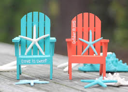 chair cake topper any color custom personalized painted adirondack chair cake