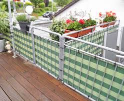 sichtblende balkon windschutz sichtschutz für terrasse balkon nach maß