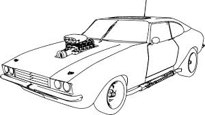 original car coloring transportation pages police free train