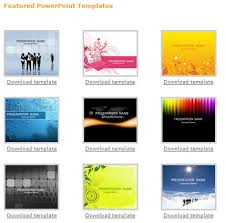 free powerpoint templates for download it presentation templates