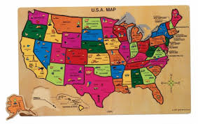 us map puzzle u s a map wooden toys toys categories