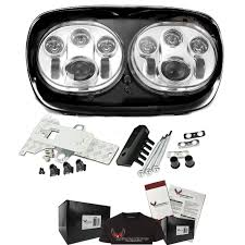 eagle lights road glide 1998 2013 led daymaker headlight