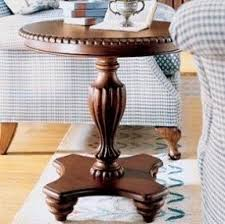 Pedestal Accent Table Round Pedestal End Table Foter