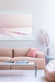 Pink Living Room Furniture How To Make A Small Living Room Look Bigger
