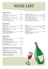 wine list templates expin memberpro co