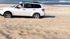 subaru outback black rims 2012 09 06 subaru on the beach at hatteras island mp4 youtube