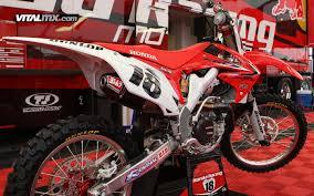 honda racing motocross millsaps u0027 honda red bull racing crf450r the big picture bring