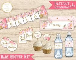 baby shower kits baby shower kit etsy