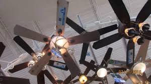 Menards Ceiling Fans With Lights Ceiling Fans At Menards Plus Street Lights Outside Youtube