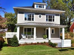 The New Small House The New American Foursquare Passive House Institute United States