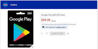 play gift card discount deal alert costco is offering 50 play gift cards as low
