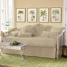 twin daybed mattress cover ballard designs