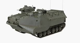 amphibious vehicle military 3d model assault amphibious vehicle aav7 turbosquid 1159019