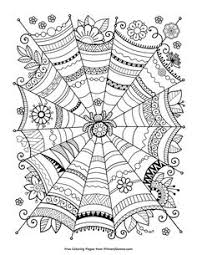 halloween coloring pages for kids freebie halloween coloring page coloring in therapy for adults