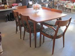 inspiring design ideas mid century dining table and chairs all