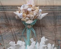 seashell bouquet seashell wedding bouquet slycreationsbouquets