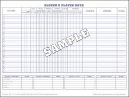 baseball player data printable basketball score sheet