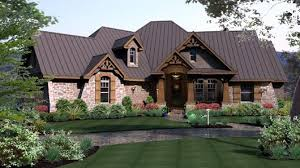 Stone House Plans House Plan 65869 At Familyhomeplans Com