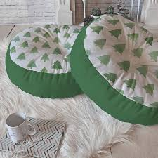 shop deny designs tree pillow at lowes com