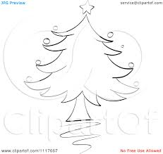16 black vector art christmas images christmas tree vector