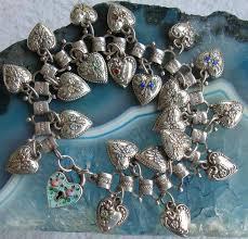 sterling silver bracelet ebay images Vintage sterling silver bracelets the more charms the merrier jpg