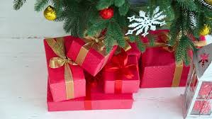 Decorate Christmas Tree Ribbon Video by 1080p Video Of Beautifully Wrapped Christmas Presents Under A