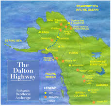 Skagway Alaska Map by Driving The Dalton Highway Also Known As The Haul Road From