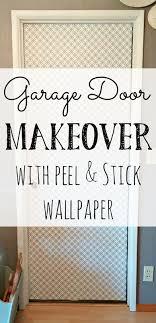 Interior Door Makeover Interior Door Makeover With Peel Stick Wallpaper