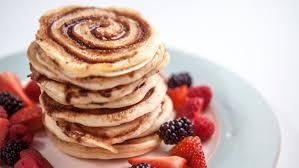 cuisine pancake cinnamon swirl pancakes