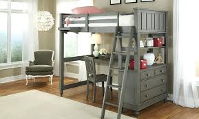 queen size loft bed with desk 6 or lower clearance stained queen