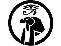 simple designed black and white symbols tattoos re