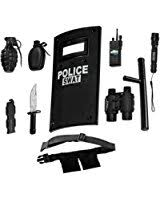 kids swat halloween costum amazon com dress up america unisex swat costume toys u0026 games