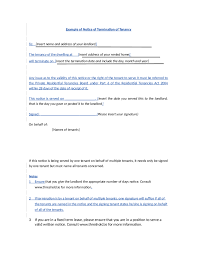letter termination of lease business sheet templates worksheet