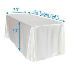 90 x 156 table 90 x 156 satin tablecloths events wholesale